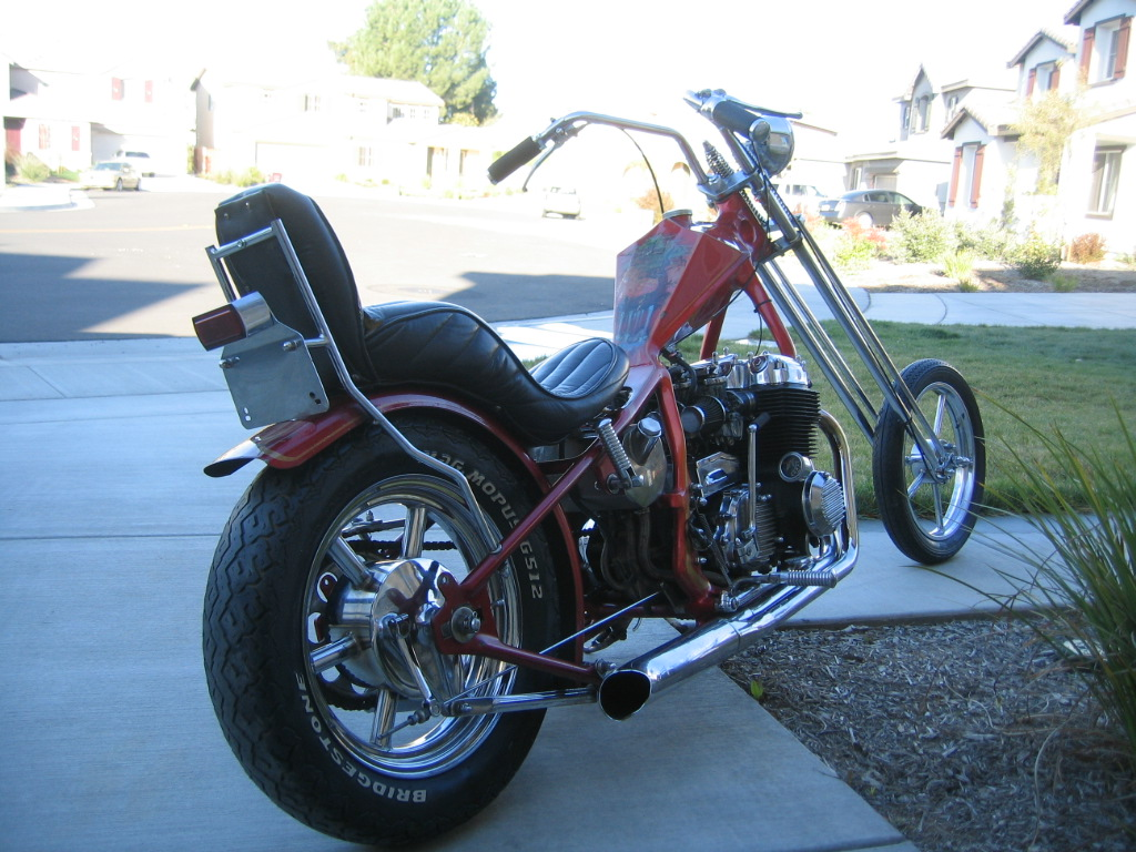 musings of a motorcycle aficionado denver 39 s honda 750 chopper. Black Bedroom Furniture Sets. Home Design Ideas