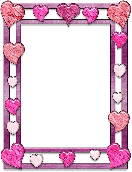 Bordes decorativos bordes decorativos de corazones para imprimir - Figuras decorativas grandes ...