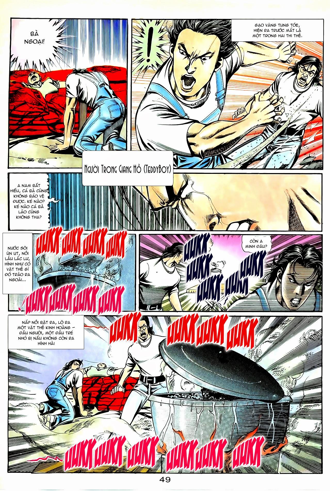 Người Trong Giang Hồ chapter 85: diệt môn trang 22