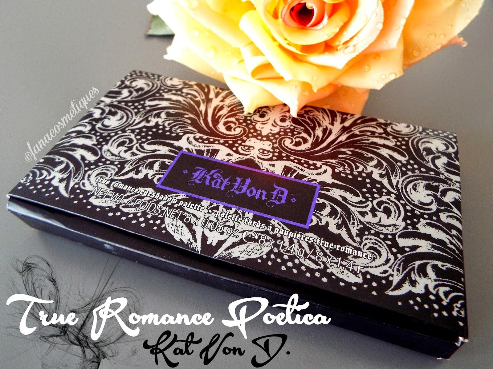 Tatoue-moi les yeux avec la True Romance Poetica de Kat von D.