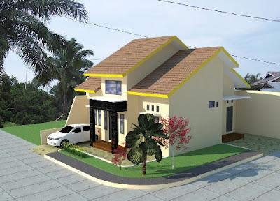 Desain Terbaru Rumah Minimalis Sederhana Lokasi Pojok Paling Nyaman Ditempati 3