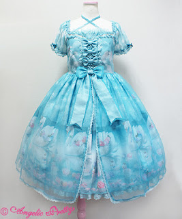 mintyfrills kawaii cute sweet lolita fashion pretty dress jsk op