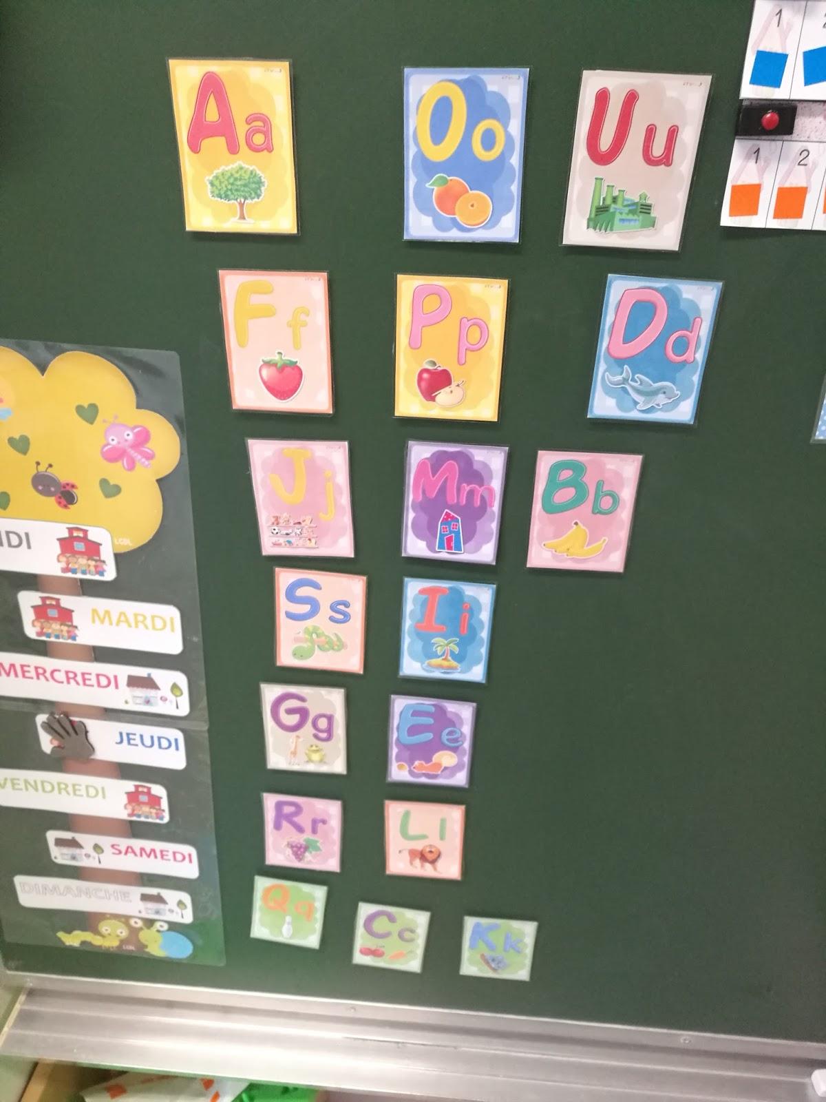 Bien-aimé La maternelle de Laurène: loto des lettres LI22