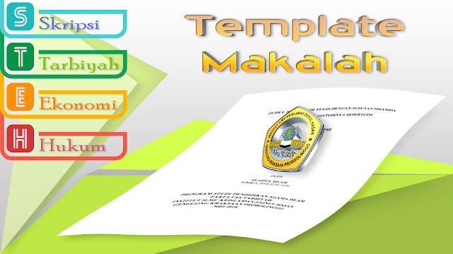 Template Makalah, Proposal, dan Skripsi