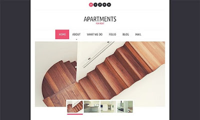 Modern Apartments for Rent WordPress Theme