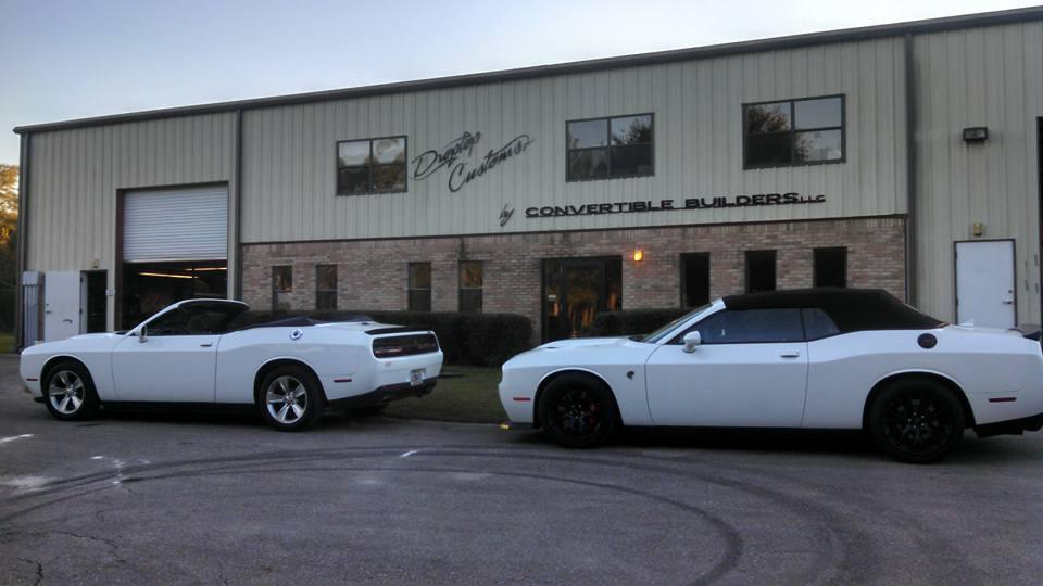 World S First Dodge Challenger Hellcat Convertible Costs
