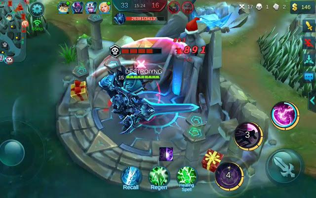 Lord dan Turtle di Mobile Legends