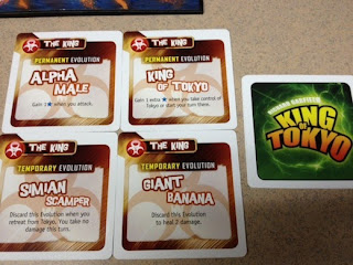 King of Tokyo Power Up! game cards