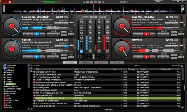 Virtual DJ Pro 7.0.5 full crack