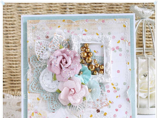 Shabby Chic Prima Card & Video Tutorial