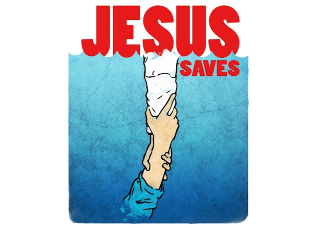 Jesus Saves Free Christian Wallpaper 1400x1000