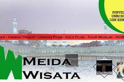 Lowongan PT. Meida Wisata Tour & Travel Pekanbaru November 2018