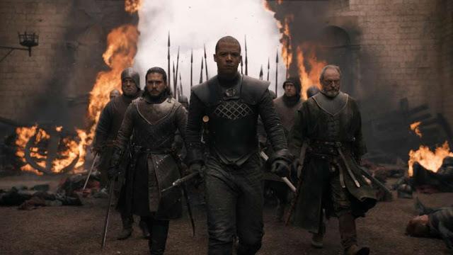 مراجعة الحلقة الخامسة الموسم الثامن مسلسل Game Of Thrones.. دروجون في كينجز لاندينج والنهاية الصادمة!