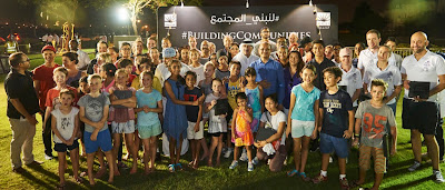 Source: Emaar. Emaar's community residents thank service providers with iftar.