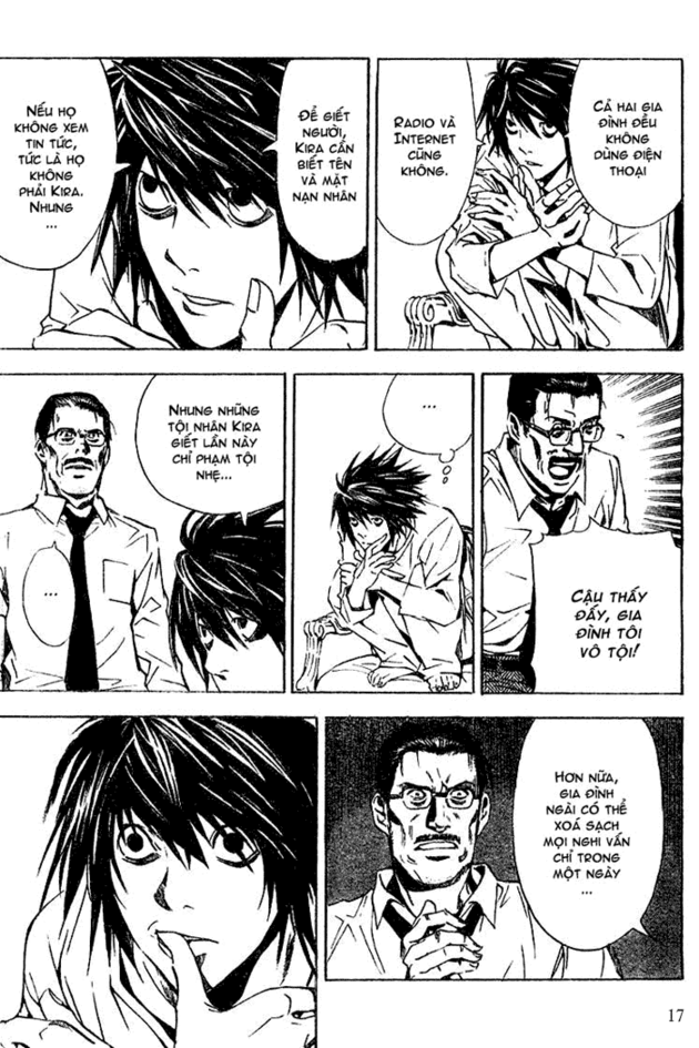 Death Note chapter 017 trang 17