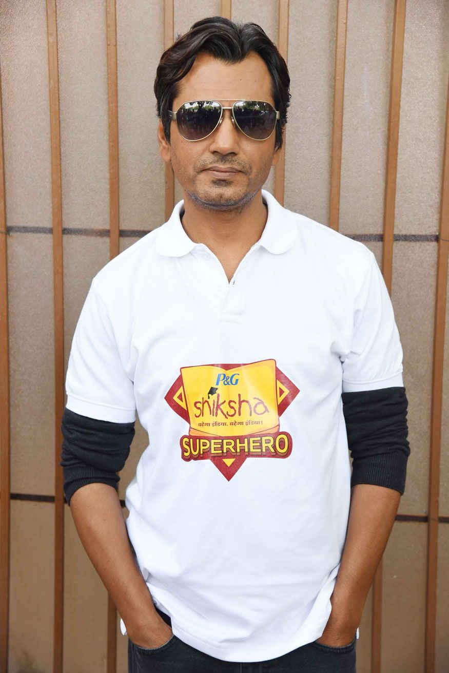 Nawazuddin Siddiqui at Shiksha Event In Delhi