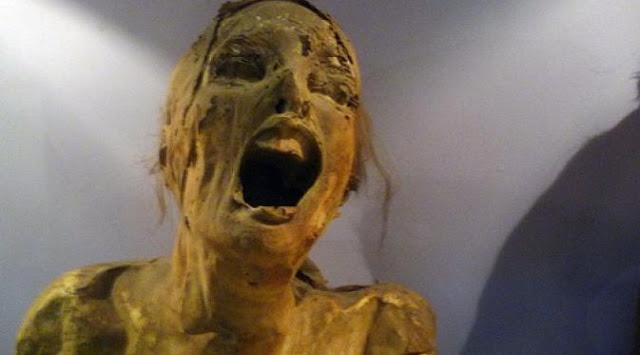 mumi berteriak mumi paling mengerikan dan menakutkan di dunia