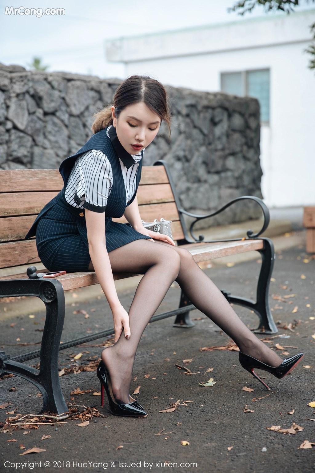 Image HuaYang-2018-09-30-Vol.087-Huang-Le-Ran-MrCong.com-003 in post HuaYang 2018-09-30 Vol.087: Người mẫu Huang Le Ran (黄楽然) (102 ảnh)