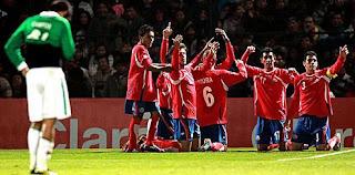 Costa Rica 2-0 Bolvia (resultado de la primera fase, Copa América)