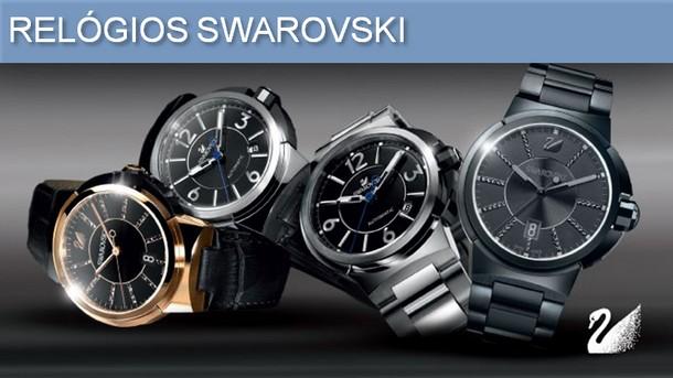 Chega ao Brasil, a novíssima coleção de relógios masculinos da Swarovski,  tradição e qualidade reconhecida nas jóias e cristais, esse novo lançamento  traz ... b701f2da97