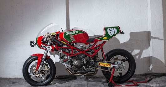 XTR Ulster - Ducati Monster