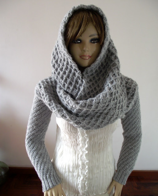 Khloe Scarf with Sleeves