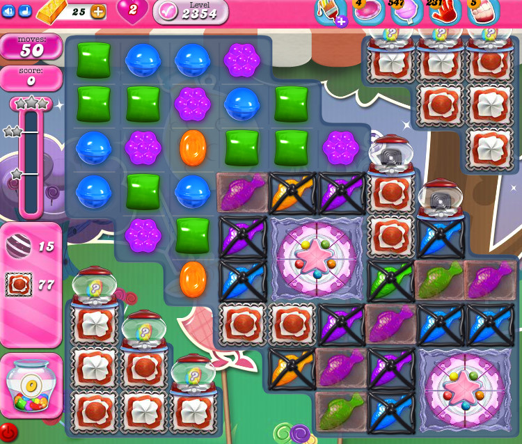 Candy Crush Saga level 2354