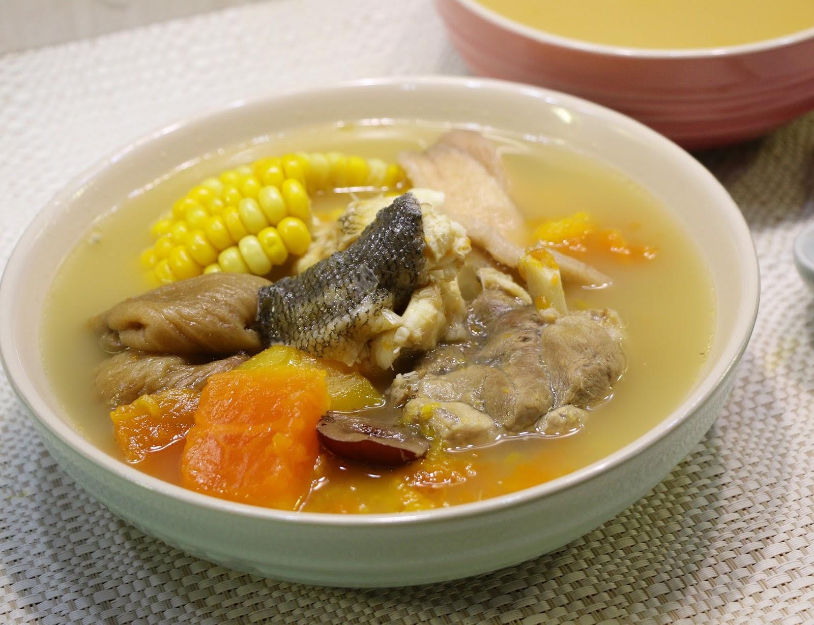 Fen's Cooking: 牛鰍魚木瓜紅棗淮山湯