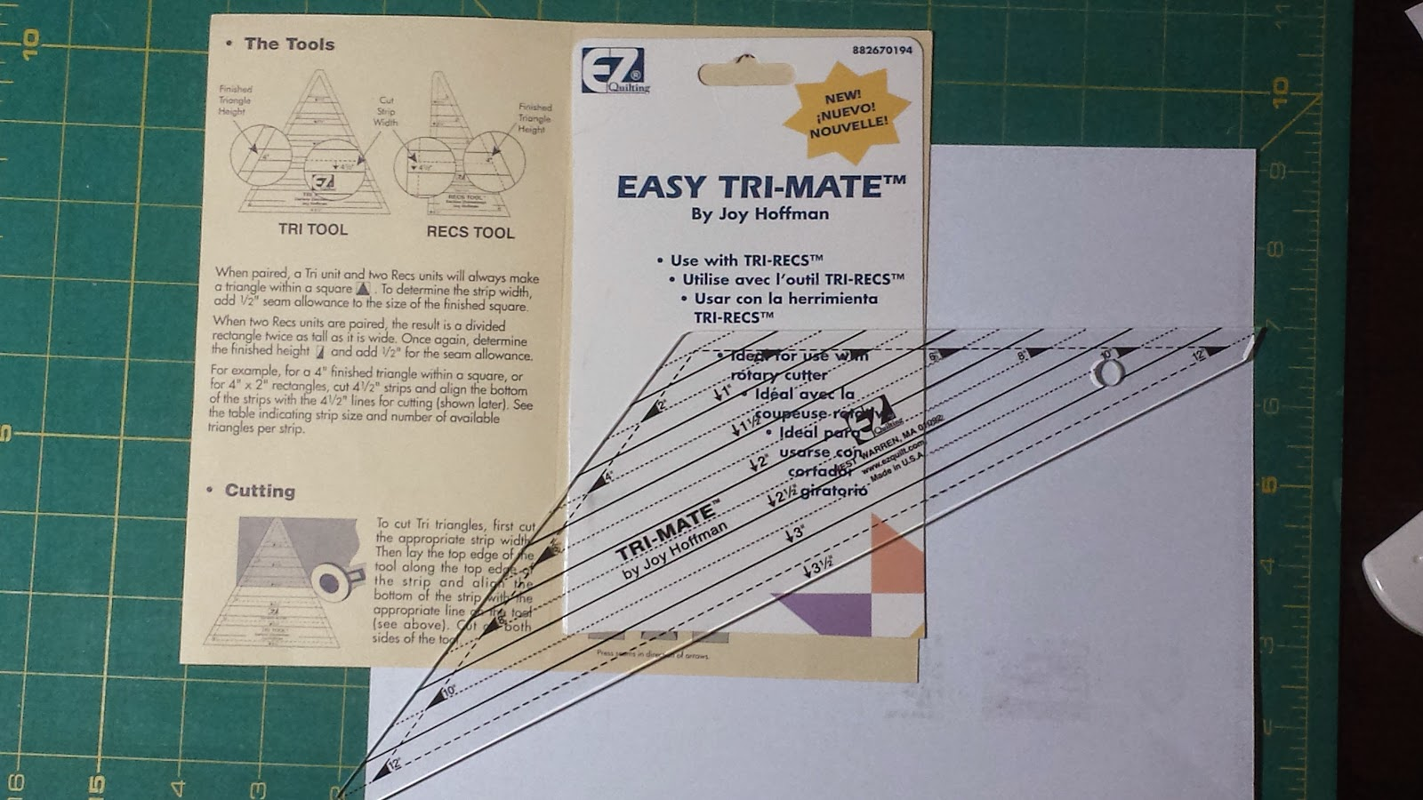how to use easy angle ruler by sharon hultgren