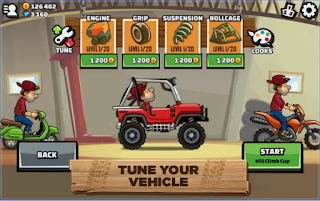Hill Climb Racing 2 Mod Apk Full Speed
