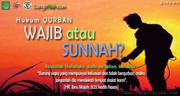 Hukum Qurban Wajib atau Sunnah? Ini Pendapat Jumhur Ulama