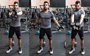 Ejercicio para trabajar las fibras altas del músculo pectoral