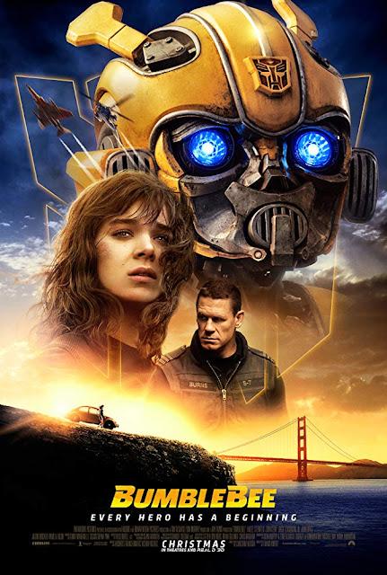 Bumblebee 2018 movie poster Hailee Steinfeld John Cena