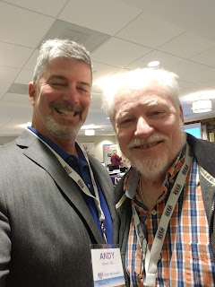 Andy Brown and Ron Climer at the REEA 2019 DREI Summit
