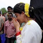 Nayanatara crying at Sri rama jayam sets
