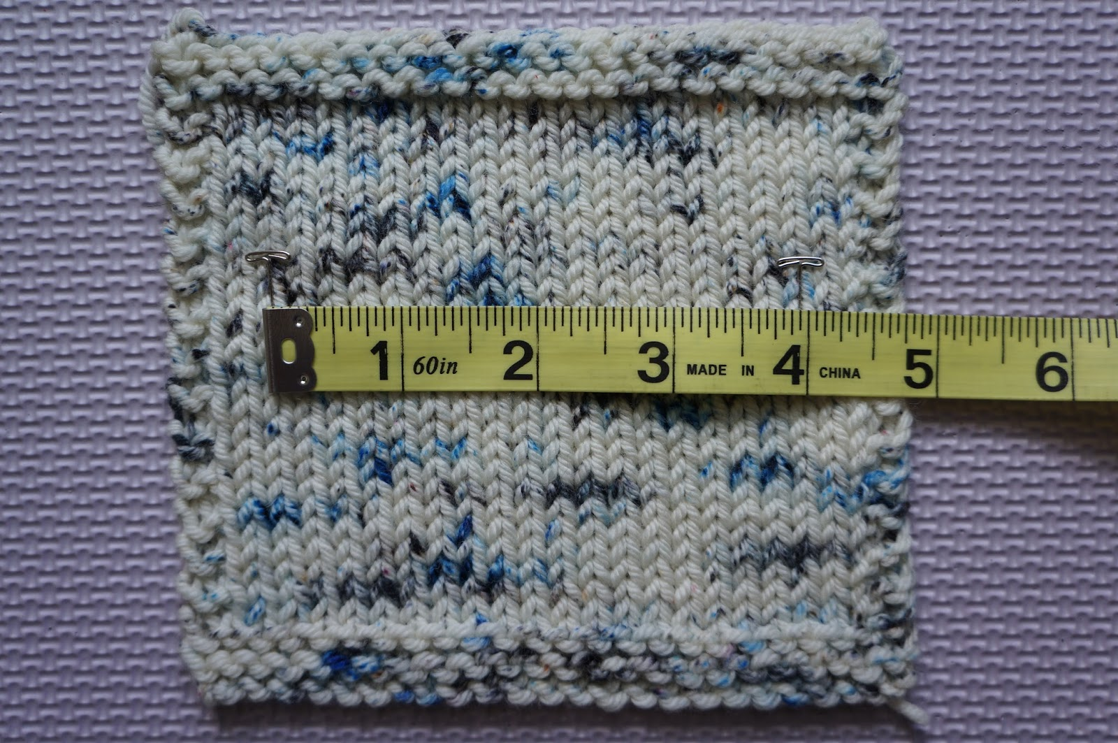 Knitting Gauge Too Many Stitches Per Inch : Posh Knits