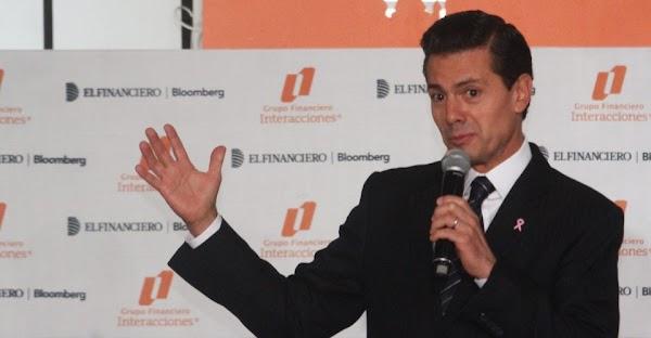 La pobreza está en un nivel mínimo, afirma Peña Nieto.
