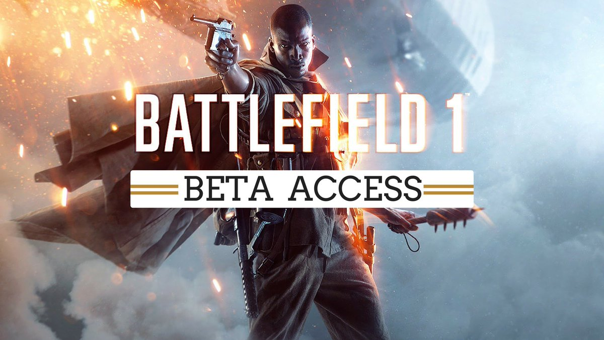 Códigos para a beta de Battlefield 1 já estão a ser enviados