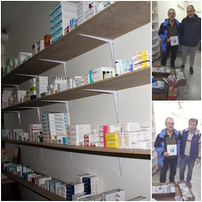 Δωρεά από Διεθνή Ανθρωπιστική Οργάνωση της Ελβετίας στο Κοινωνικό Φαρμακείο του Δήμου Ηγουμενίτσας