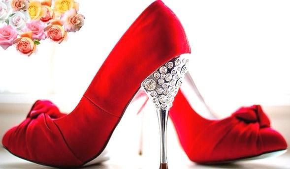 designer red wedding shoes - photo #35