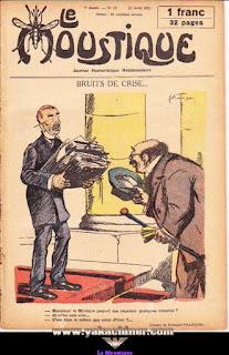 Le Moustique, Journal Humoristique Hebdomadaire, numéro 15, année 1931