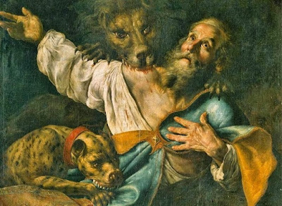 Art: Martyrdom of Saint Ignatius of Antioch - Cesare Fracanzano