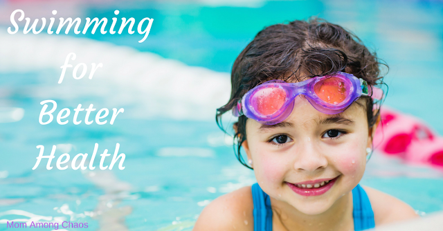 Swimming for better health, swimming, health, healthy, Metro Detroit, things to do, lessons, Aqua-Tots