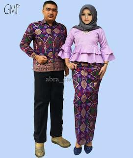 baju couple batik lengan panjang