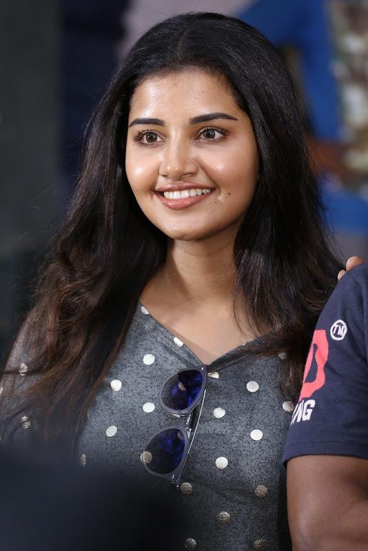Anupama Parameswaran at Sai Dharam Tej movie Press Meet