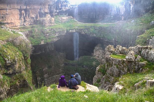 Cachoeira do Cânion de Baatara (Foto: Reprodução)