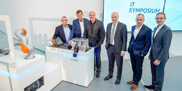 Volkswagen's Group IT Showcases New Digital Technologies