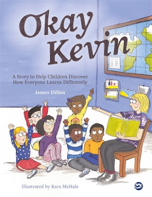 If you're looking for a book about working hard over a long period of time and learning to be okay with your own learning differences, Okay Kevin is a great read aloud for kindergarten - 2nd grade kids and it would be a good independent read for 2nd - 4th graders.