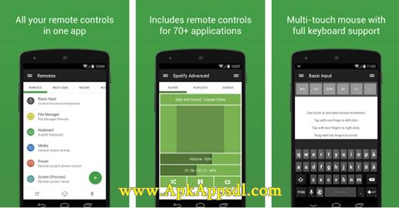 Unified Remote Apk v3.6.1 (Tools App) Latest Version Terbaru 2016 Free Download