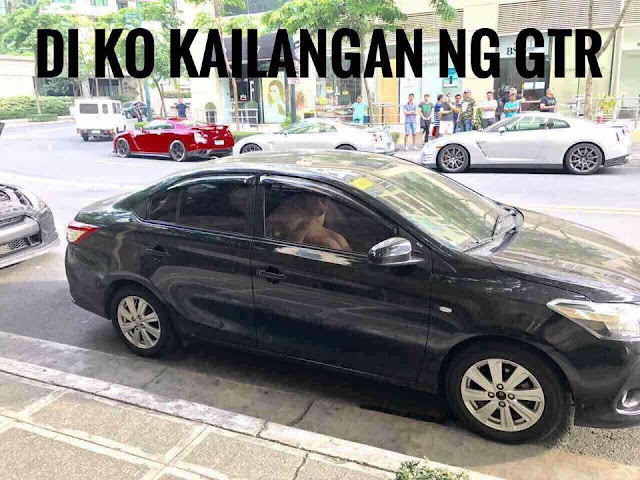 Watch: This Black Toyota Vios Goes Viral Because Of What The Couple Did Inside And It Was Caught On Cam!